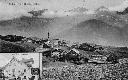 Fiss im Jahr 1910